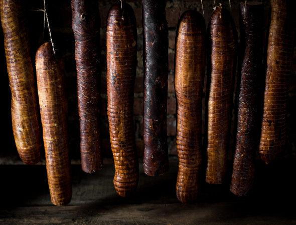 Andouille de Guémené fumée au bois de hêtre