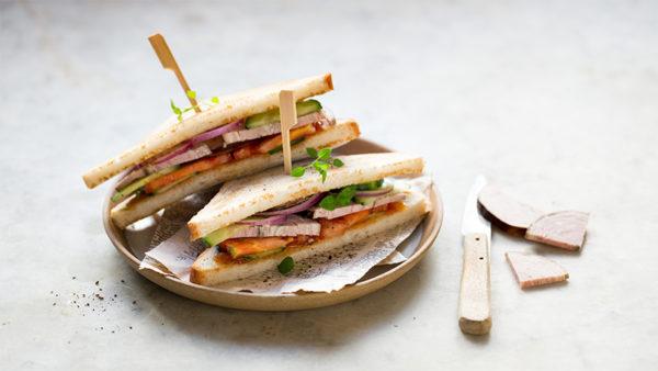 club sandwich andouille de guemene